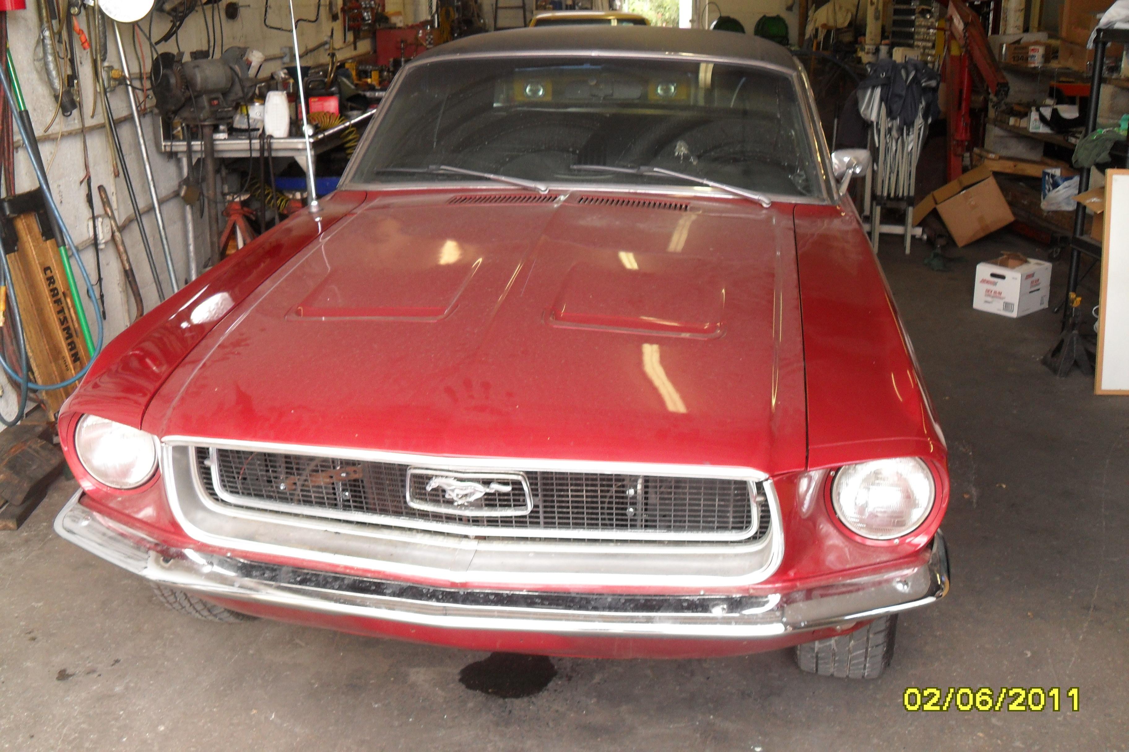 68 Ford Mustamg